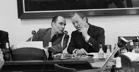 Mitterrand Brandt archives