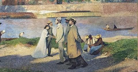 tableau Henri Martin Jaures